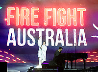 k.d. lang  at Fire Fight Australia at the  ANZ Stadium Sydney Australa 16 Feb 2020 Photo BY Rhiannon Hopley