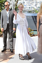 Elle Fanning attending the Beguiled photocall as part of the 70th Cannes Film Festival. Photo credit should read: Doug Peters/EMPICS Entertainment