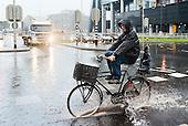 Wateroverlast zware regenval regen natte zomer