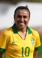 Fifa Womans World Cup Canada 2015 - Preview //<br /> Algarve Cup 2015 Tournament ( Municipal Stadium - Albufeira , Portugal ) - <br /> Brazil vs China 0-0 - Marta Vieira da Silva of Brazil