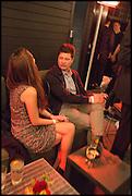 CHLOE SAVAGE; KIM SAVAGE, Frieze party, ACE hotel Shoreditch. London. 18 October 2014