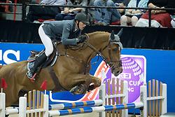 Staut Kevin, (FRA), Qurack de Falaise HDC <br />  Longines FEI World Cup™ Jumping Final Las Vegas 2015<br />  © Hippo Foto - Dirk Caremans<br /> Final III round 2 - 19/04/15
