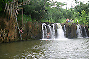 Kipu Falls, Kauai, Hawaii, (editorial use only, no model release)<br />