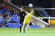 AFC Wimbledon midfielder Jake Reeves (8) during the EFL Cup match between Peterborough United and AFC Wimbledon at ABAX Stadium, Peterborough, England on 9 August 2016. Photo by Stuart Butcher.
