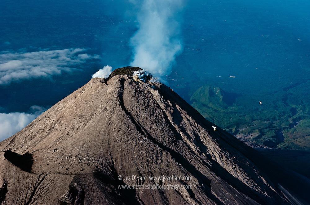 Mount Merapi, Yogyakarta, Central Java, Indonesia