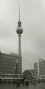 Berlin, GERMANY,  General views, GV's, Alexander Platz, SBahn  Station,  Berlin, Friday, 19/12/2008.  {Mandatory Credit/Peter Spurrier] Street Photos