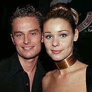 Playboy Feest 2000, Froukje de Both en vriend Daniel Sleutel