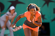 Paris, France. May 30th 2009. .Roland Garros - Tennis French Open. 3rd Round..American player Serena Williams against Maria Jose Martinez Sanchez