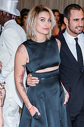 Paris Jackson (Wearing Calvin Klein) arriving at The Metropolitan Museum of Art Costume Institute Benefit celebrating the opening of Rei Kawakubo / Comme des Garcons : Art of the In-Between held at The Metropolitan Museum of Art  in New York, NY, on May 1, 2017. (Photo by Anthony Behar) *** Please Use Credit from Credit Field ***