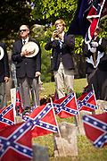 The Palmetto Guard plays taps at Magnolia Cemetery to mark Confederate Memorial Day on May 10, 2011 in Charleston, South Carolina.  South Carolina is one of three states that marks the day as a public holiday.