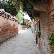 """Venice the area around Dorsoduro and S Polo Dorsoduro is one of the six """"sestieri"""" in Venice"""