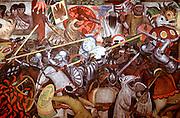 MEXICO, MEXICO CITY, MURALS Rivera's 'History of Mexico'