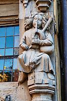 France, Maine-et-Loire (49), Angers, la maison d'Adam datant du XVIème siècle, place Sainte-Croix // France, Maine-et-Loire, Angers, Adam house from 16 century