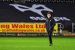 Ospreys' Head Coach Allen Clarke<br /> <br /> Photographer Craig Thomas/Replay Images<br /> <br /> Guinness PRO14 Round 18 - Ospreys v Leinster - Saturday 24th March 2018 - Liberty Stadium - Swansea<br /> <br /> World Copyright © Replay Images . All rights reserved. info@replayimages.co.uk - http://replayimages.co.uk