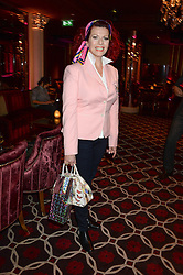 CLEO ROCOS at a party to celebrate the publication of 'Passion for Life' by Joan Collins held at No41 The Westbury Hotel, Mayfair, London on21st October 2013.