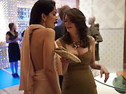 YASMIN MILLS; KATHRYN GREIG, Louis Vuitton openingof New Bond Street Maison. London. 25 May 2010. -DO NOT ARCHIVE-© Copyright Photograph by Dafydd Jones. 248 Clapham Rd. London SW9 0PZ. Tel 0207 820 0771. www.dafjones.com.