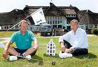 Kennemer GC organisatie Dutch Open; voorzitter Jan Willem Hoving (l)  en Spreeuw van Woudenberg Hamstra Copyright Koen Suyk