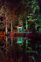 Inspired by Diwali, the Indian Festival of Light where light triumphs over darkness, Electric Woods present the  Festival of Light at Robin Hill Country Park, Isle of Wight.