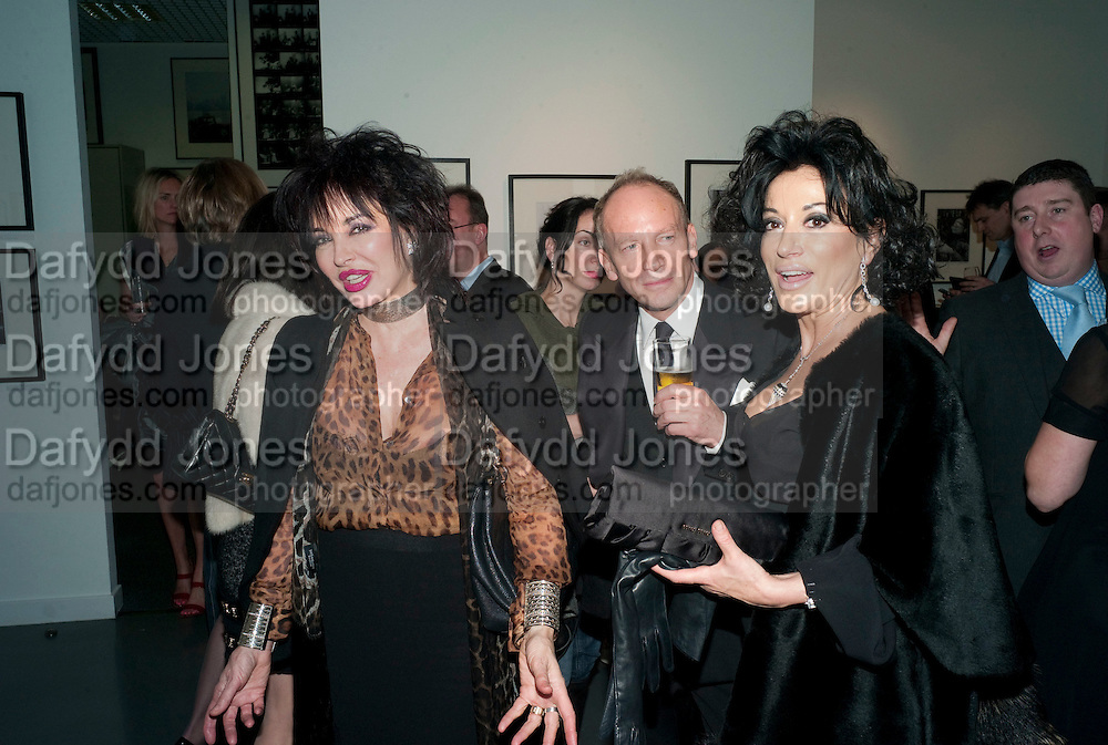 CHERYL HOWARD; ROBERT NEWMARK; NANCY DELL D'OLIO, Out Of Context - private view of photographs by Lorraine Goddard. Getty Images Gallery, 46 Eastcastle Street. Afterwards at the Sanderson Hotel. 21 January 2010