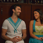 """Jane The Virgin -- """"Chapter Seventy-Four"""" -- Image Number: JAV410b_0213.jpg -- Pictured (L-R): Justin Baldoni as Rafael and Gina Rodriguez as Jane -- Photo: Lisa Rose/The CW -- © 2018 The CW Network, LLC. All Rights Reserved."""