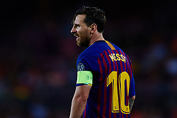 September 18, 2018 - Barcelona, Barcelona, Spain - Leo Messi of FC Barcelona looks on during the UEFA Champions League group B match between FC Barcelona and PSV Eindhoven at Camp Nou on September 18, 2018 in Barcelona, Spain  (Credit Image: © Sergio Lopez/NurPhoto/ZUMA Press)