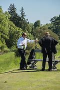 CHRISTOPHER REES; PETER BEVAN, Opening of Grange Park Opera, Fiddler on the Roof, Grange Park Opera, Bishop's Sutton, <br /> Alresford, 4 June 2015