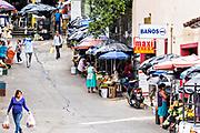 The town market in Santiago Tuxtla, Veracruz, Mexico.