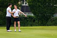28-05-2016 Foto's van de kruisfinales in de hoofdklasse van de NGF Competitie 2016.<br /> Foto: Pasqualle Coffa - Dames Koninklijke Eindhovensche 1. Genomen tijdens Finaleweekend NGF Hoofdklasse 2016 bij Goyer Golf & Country Club in Eemnes, Nederland.