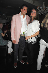 EDWARD TAYLOR and LADY NATASHA RUFUS-ISAACS at a party to launch the new upstairs area of Mamilanji, 107 Kings Road, London SW3 on 19th April 2007.<br /> <br /> NON EXCLUSIVE - WORLD RIGHTS