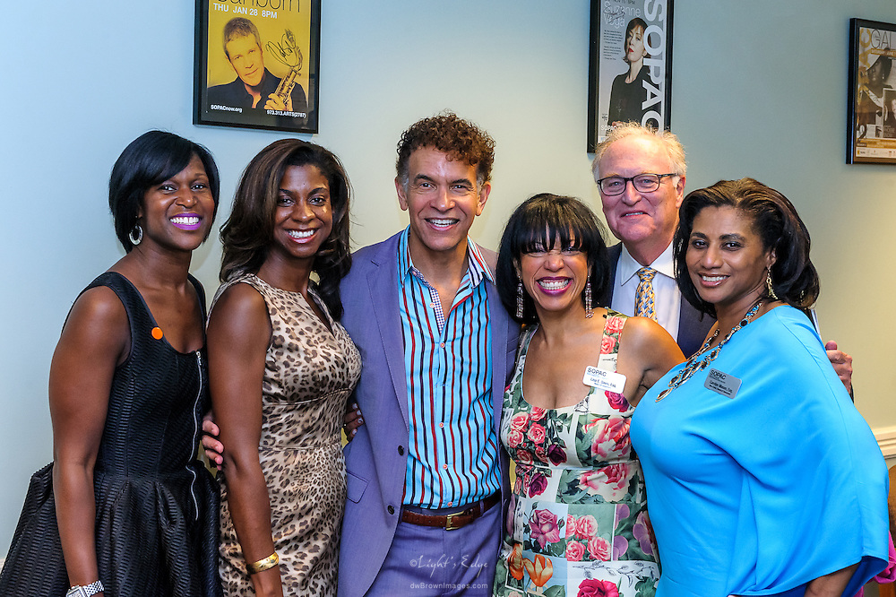 Brian Stokes Mitchell during a meet and greet following his performance at the SOPAC 2015 Gala.