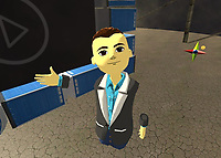 Can you tell I spent all of 10 seconds on my avatar?