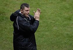 Bristol City manager, Steve Cotterill - Photo mandatory by-line: Alex James/JMP - Mobile: 07966 386802 - 29/01/2015 - SPORT - Football - Bristol - Ashton Gate - Bristol City v Gillingham - Johnstone Paint Trophy Southern area final
