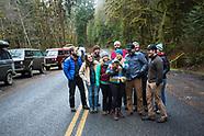 Olympic Peninsula, Washington 2014 New Years Van Camping Photos