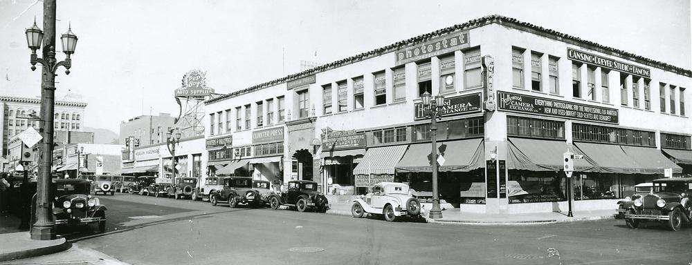 1933 Cahuenga Blvd. & Selma Ave.