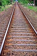 Jurata, linia kolejowa do miejscowości Hel.