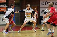 Postenligaen, håndball, haslum - runar, 2013<br /> Christian Ekstrøm Berge, Runar<br /> Erlend Mamelund, Haslum<br /> Tobias Riversjö, Runar<br /> Foto: Ole Marius Fjalsett