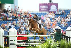 Cordon Pilar, (ESP), Gribouille du Lys<br /> Team Competition round 1 and Individual Competition round 1<br /> FEI European Championships - Aachen 2015<br /> © Hippo Foto - Stefan Lafrentz<br /> 19/08/15