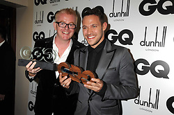 Left to right, CHRIS EVANS and WILL YOUNG at the GQ Men of the Year Awards held at the Royal Opera House, London on 2nd September 2008.<br /> <br /> NON EXCLUSIVE - WORLD RIGHTS