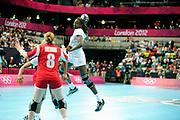 DESCRIZIONE : France Hand Jeux Olympiques Londres <br /> GIOCATORE : SIGNATTE Mariama FRA<br /> SQUADRA : France Femme<br /> EVENTO : FRANCE Hand Jeux Olympiques<br /> GARA : FRANCE NORVEGE<br /> DATA : 28 07 2012<br /> CATEGORIA : Hand Jeux Olympiques<br /> SPORT : Handball<br /> AUTORE : JF Molliere <br /> Galleria : France Hand 2011-2012 Action<br /> Fotonotizia : France Hand Femme Hand Jeux Olympiques Londres