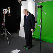 Boris Johnson pre NYE film