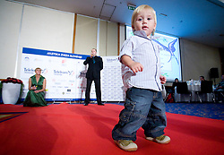 at Best Slovenian athlete of the year ceremony, on November 15, 2008 in Hotel Lev, Ljubljana, Slovenia. (Photo by Vid Ponikvar / Sportida)