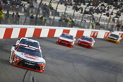April 20, 2018 - Richmond, Virginia, United States of America - April 20, 2018 - Richmond, Virginia, USA: Christopher Bell (20) brings his race car down the front stretch during the ToyotaCare 250 at Richmond Raceway in Richmond, Virginia. (Credit Image: © Chris Owens Asp Inc/ASP via ZUMA Wire)