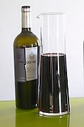 Bottles and decanters. Uvas Castas. Henrque HM Uva, Herdade da Mingorra, Alentejo, Portugal