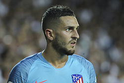 August 20, 2018 - Koke of Atletico de Madrid in action during the spanish league, La Liga, football match between ValenciaCF and Atletico de Madrid on August 20, 2018 at Mestalla stadium in Valencia, Spain. (Credit Image: © AFP7 via ZUMA Wire)