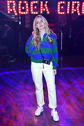 Anais Gallagher during the Tommy Hilfiger Front row during London Fashion Week SS18 held at Roundhouse, Chalk Farm Rd, London. Picture Date: Tuesday 19 September. Photo credit should read: Ian West/PA Wire