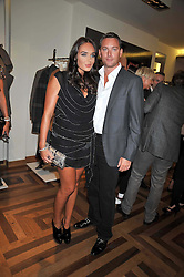 TAMARA ECCLESTONE and ROBERT MONTAGUE at a party hosted by Petra Ecclestone at Matches, 87 Marylebone High Street, London on 7th September 2009.