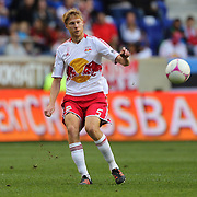 Markus Holgersson, New York Red Bulls, in action during the New York Red Bulls V Chicago Fire Major League Soccer regular season match at Red Bull Arena, Harrison. New Jersey. USA. 6th October 2012. Photo Tim Clayton