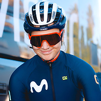Emma Norsgaard. 2021 Movistar Team Training Camp, Almería. 10.1.2021.