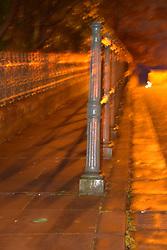 Railings, West End area of Glasgow