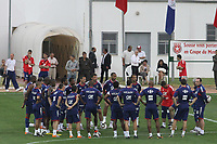 FOOTBALL - MISCS - WORLD CUP 2010 - FRANCE TEAM IN TUNISIA - 28/05/2010 - PHOTO ERIC BRETAGNON / DPPI - FRANCE TEAM